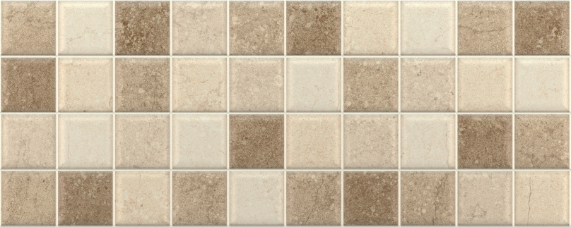 DECOR MOSAICO CONCRETE NOCE