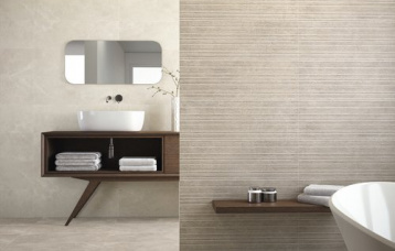 Town Ivory 30x90. Slow Town Taupe 30x90. Pavimento Town Taupe 40x80.