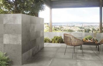 Grafton Grey 30x60 cm. Pavimento Grafton Grey 60x60 cm.
