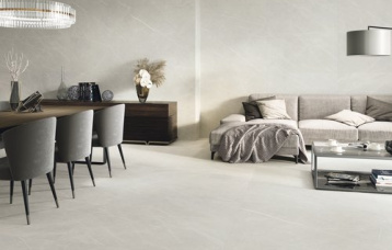 Eternal Pearl Natural 60 x 120 cm. Pavimento Eternal Pearl Natural 120 x 120 cm.