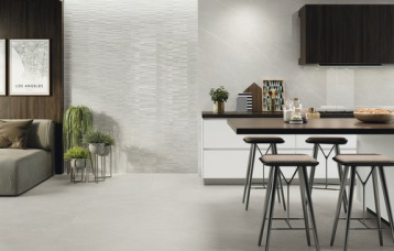 Eternal Pearl Pulido 33,3 x 100 cm. Section Eternal Pearl Pulido 33,3x100 cm. Pavimento Eternal Pearl Natural 60 x 60 cm.
