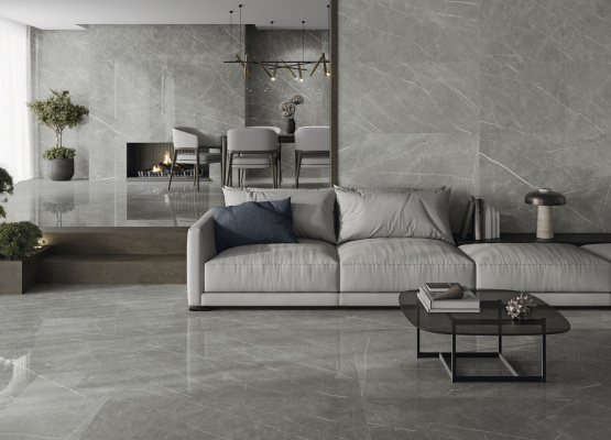 Eternal Taupe Natural 60x120 cm. Pavimento Eternal Taupe Natural  120x120 cm.